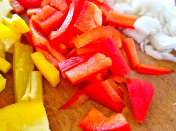 Peppers & Onions