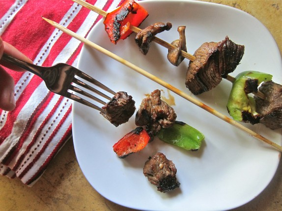 Recipe: Steak kabobs