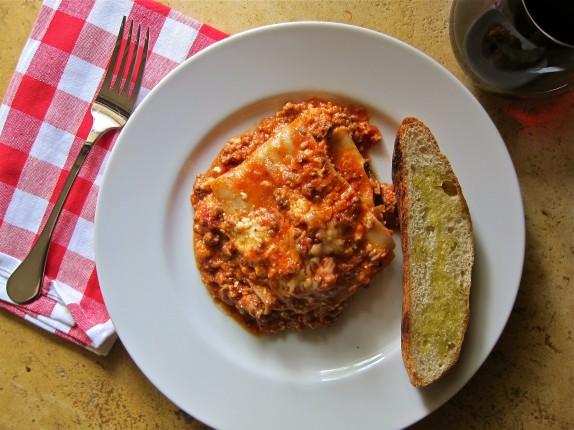 Recipe: Bolognese lasagna