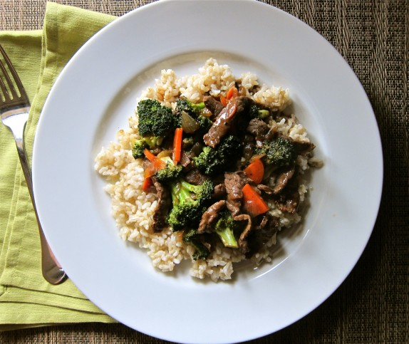 Recipe: Beef and broccoli stir-fry