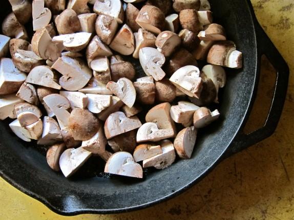 Recipe: Garlic mushrooms