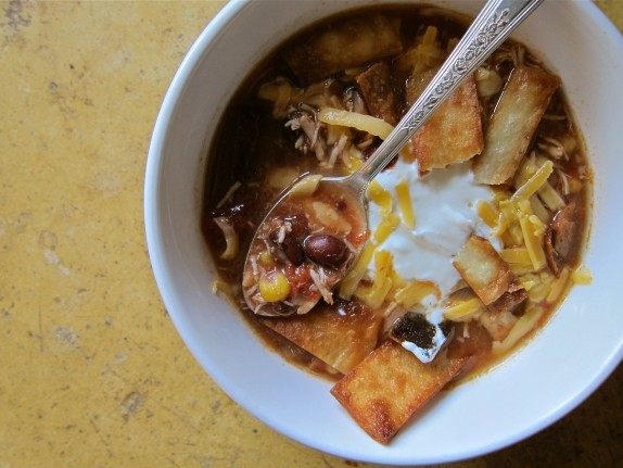 Recipe: Tortilla soup