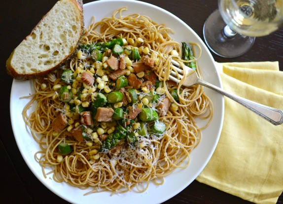 Recipe: Almost summertime pasta
