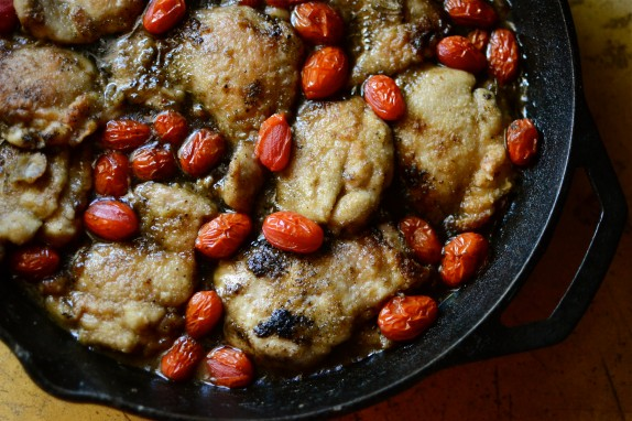 Recipe: Rosemary chicken with roasted tomatoes