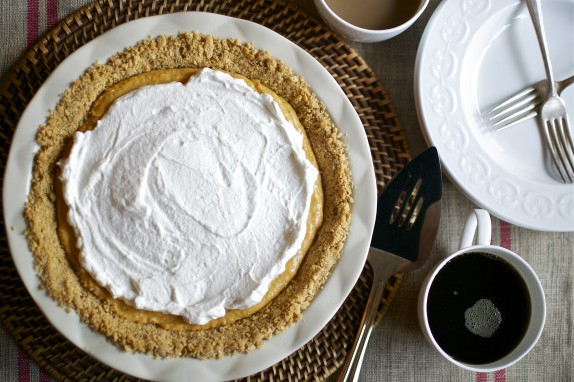 Recipe: Almost no bake pumpkin pie