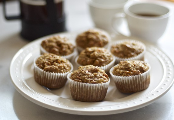 Recipe: Morning Muffins with oatmeal, carrots and banana