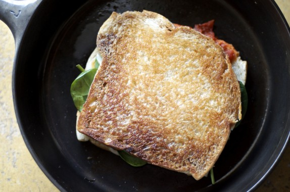 Recipe: Fancy grilled cheese