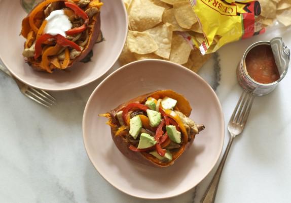 Recipe: Fajita sweet potato