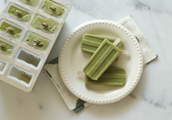 Recipe: Green smoothie popsicles