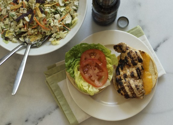 Recipe: Honey mustard grilled chicken sandwich